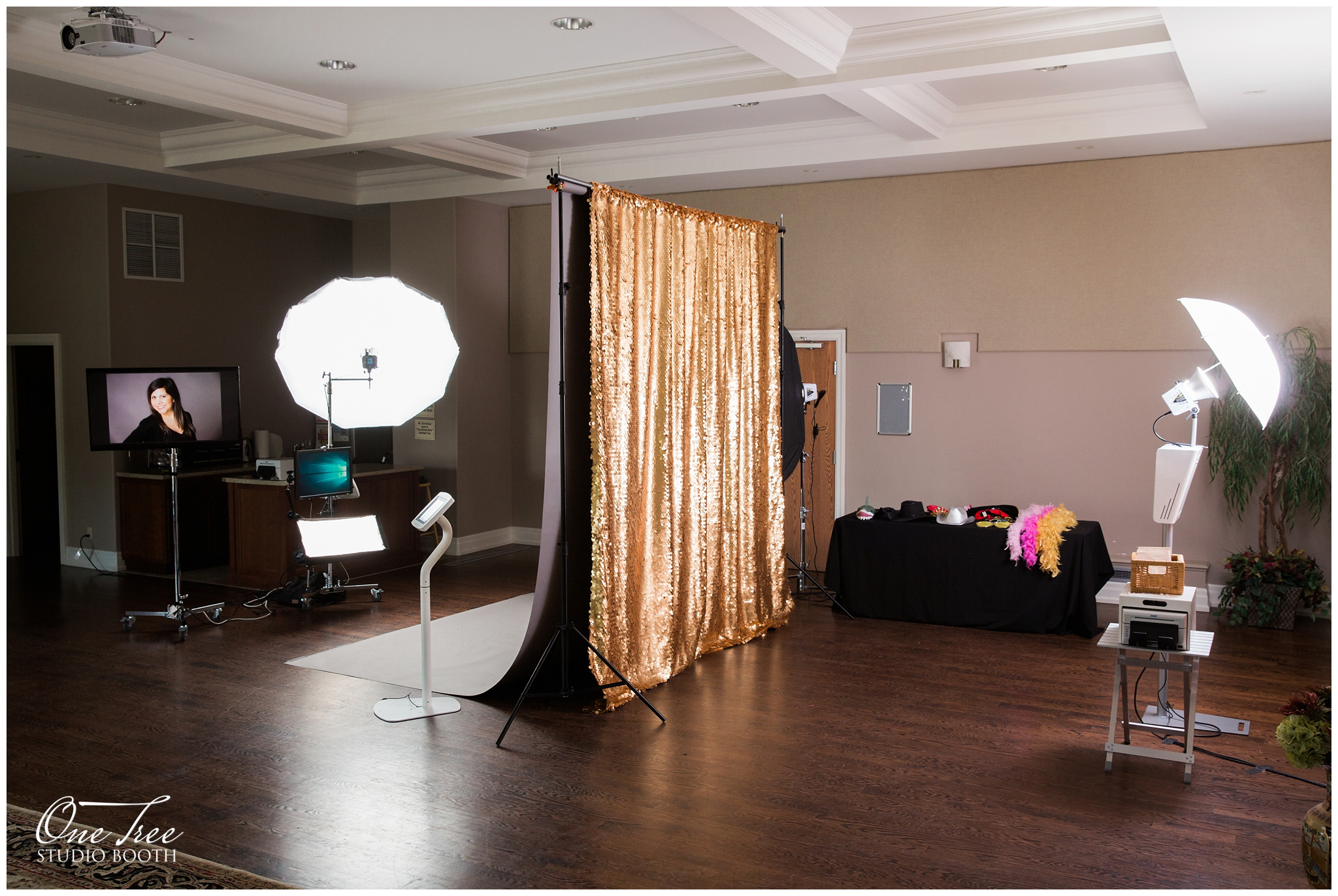 Corporate Headshots and Luxury Photo Booth | One Tree Studio Booth | Toronto and Niagara Region