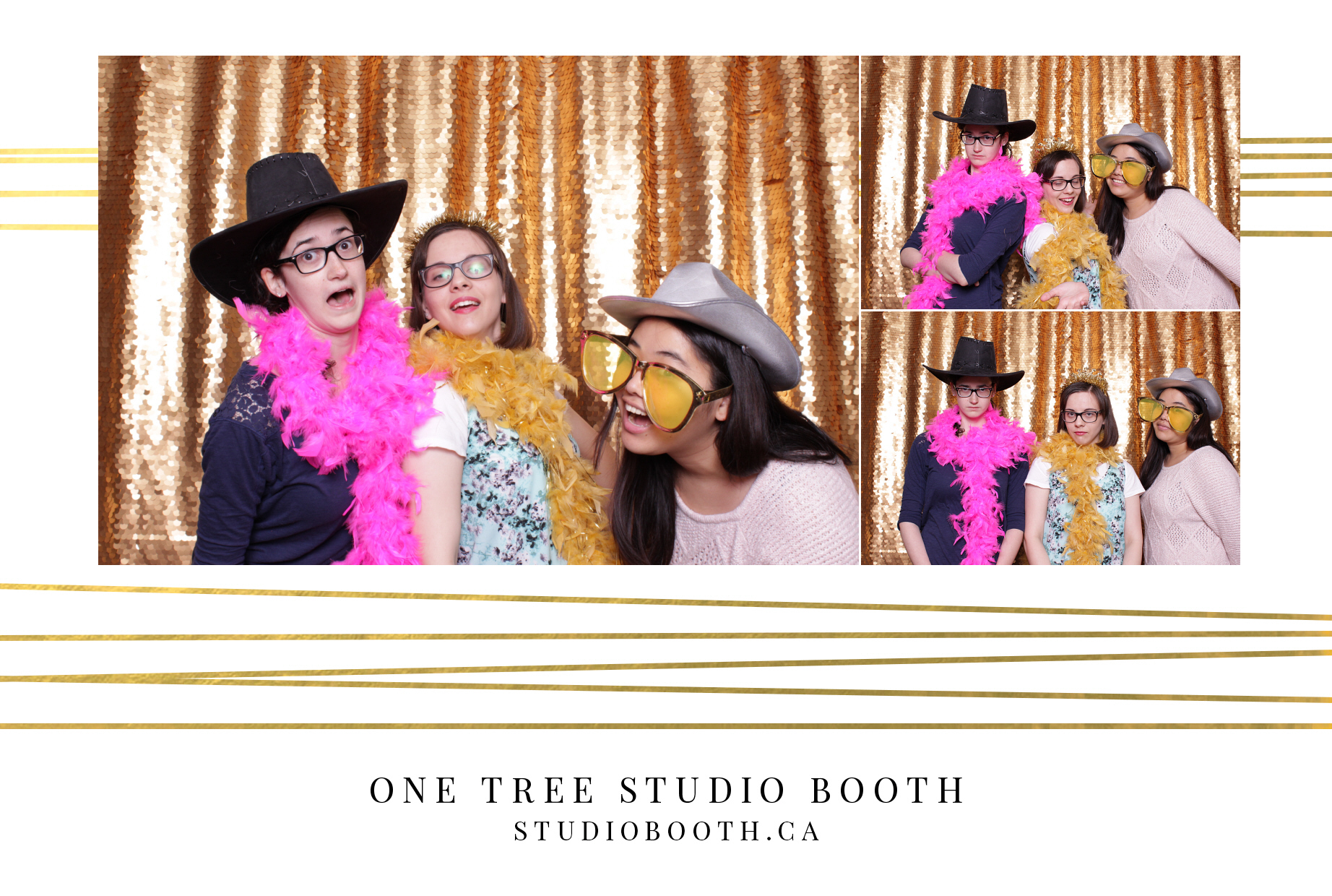 Luxury Photo Booths | One Tree Studio Booth | Toronto and Niagara Region