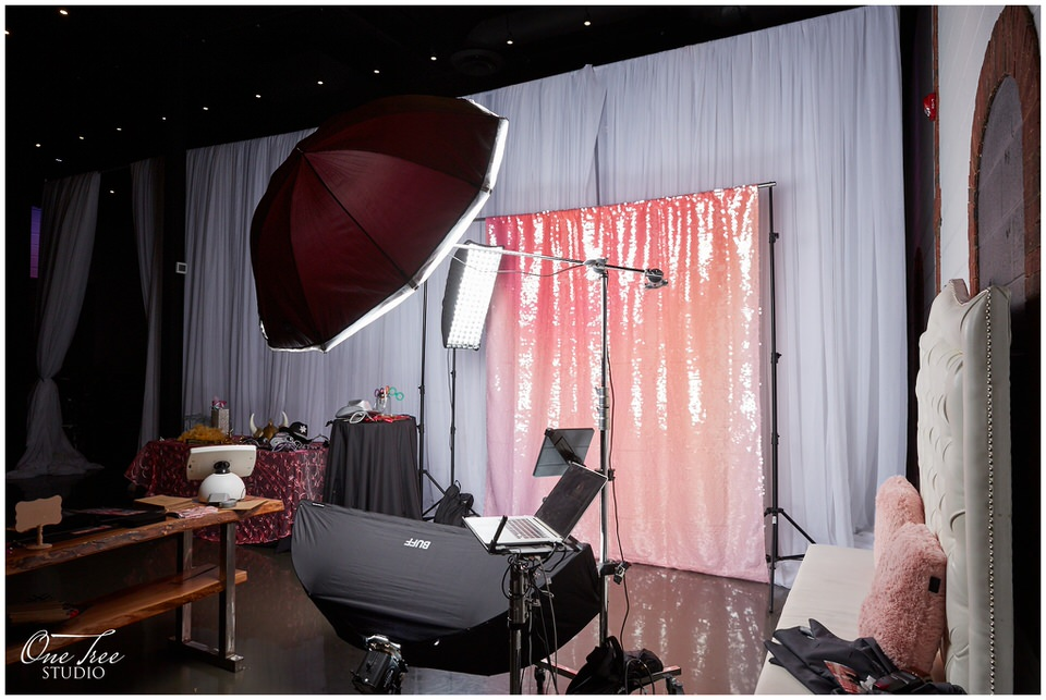 Full-service Toronto Photo Booth with Photographers    York Mills Gallery   One Tree Studio Booth