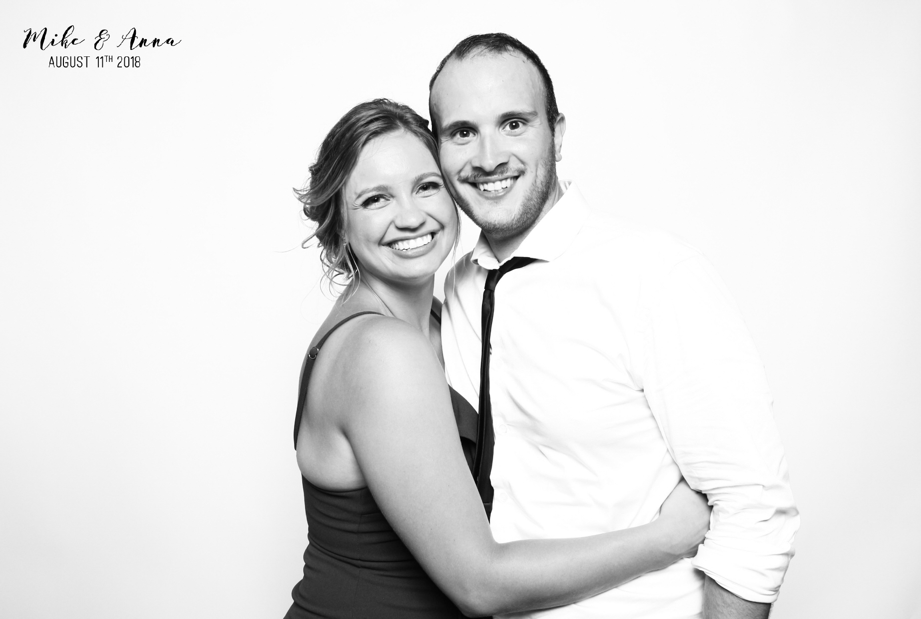 Niagara Black and White Photo Booth