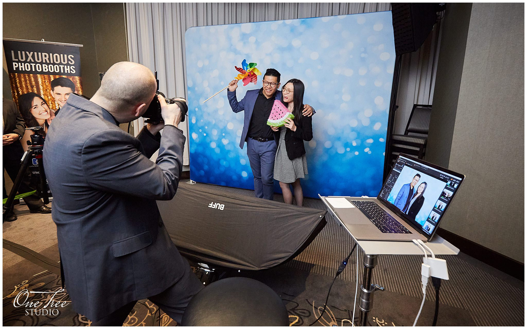 Photo Booth at Markham Hilton
