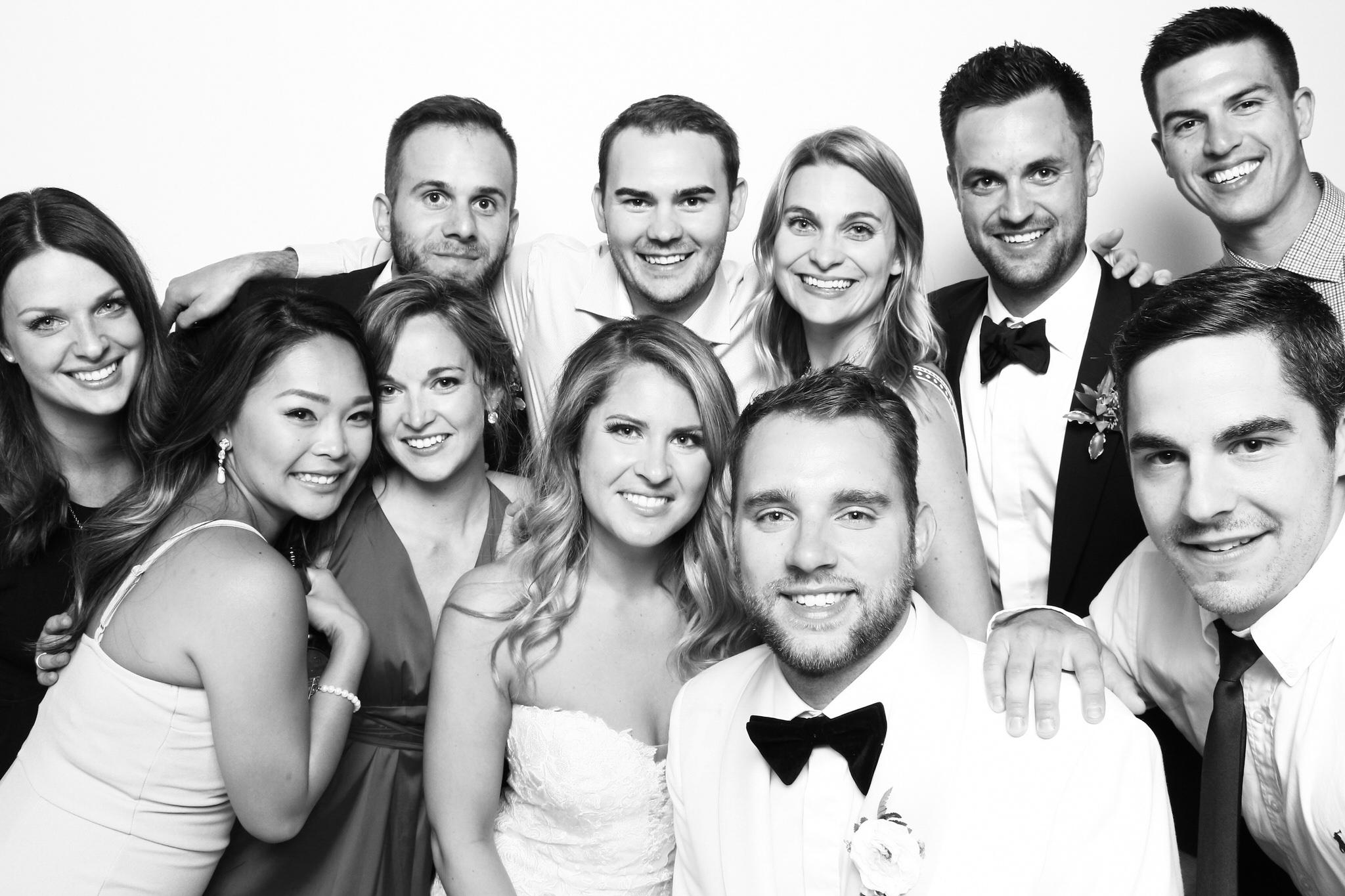 Elora Mill Wedding Photo Booth