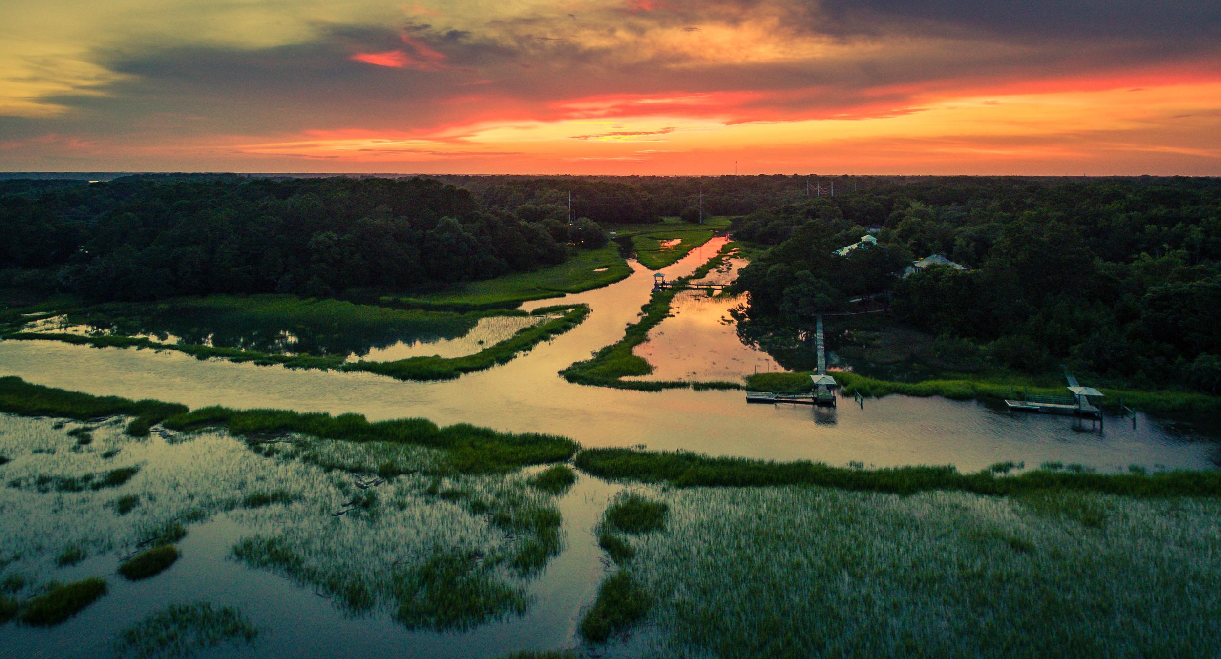 Charleston Landscape Stock Photography