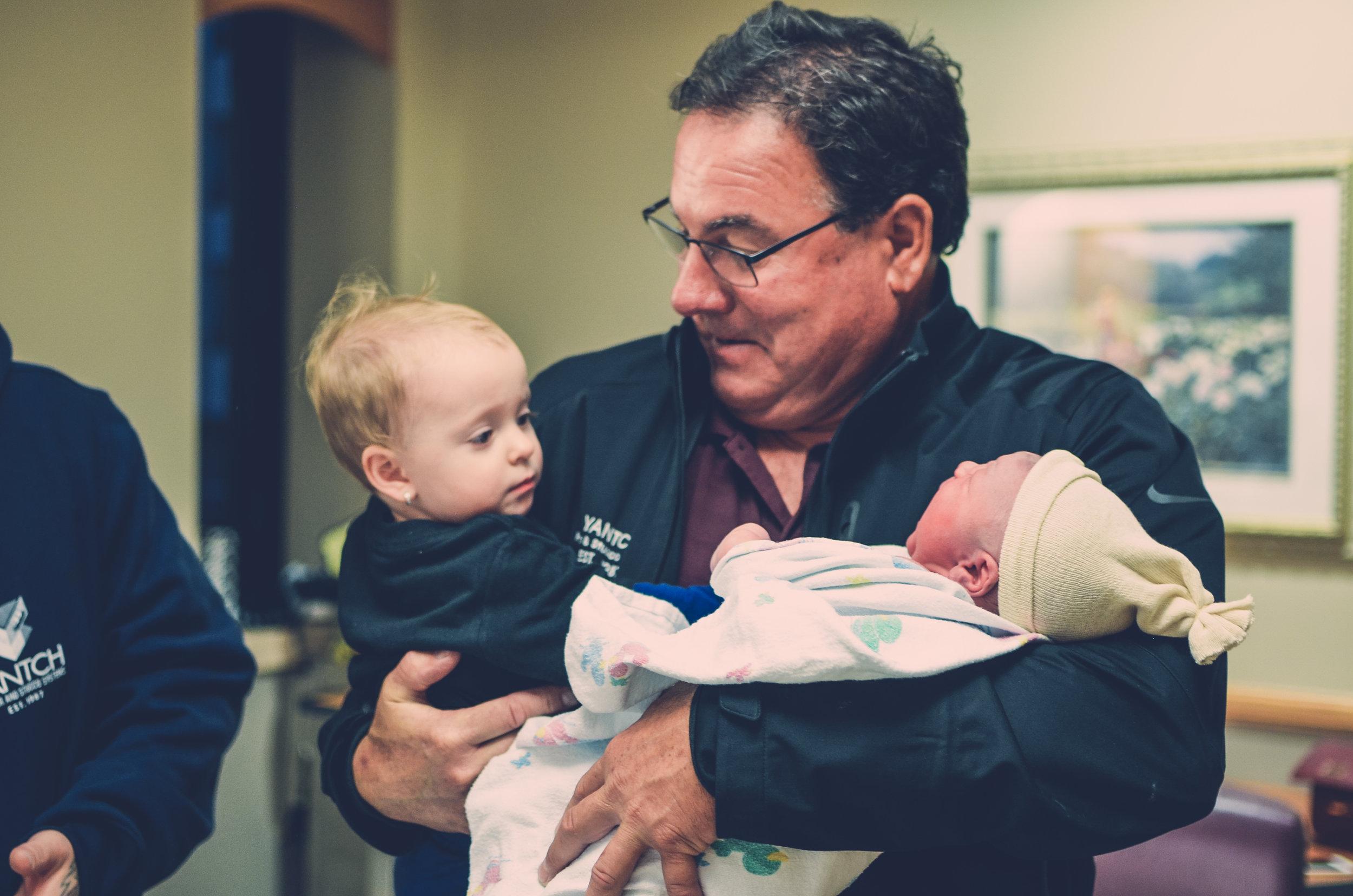 Syracuse, New York hospital birth photography
