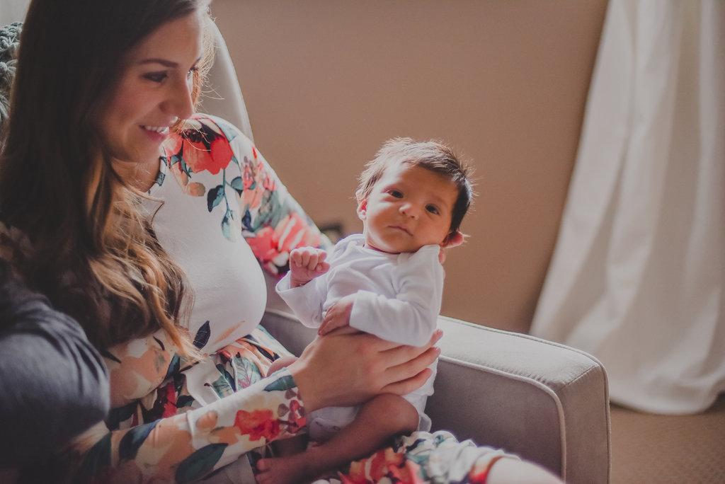 Syracuse / Tully, New York newborn twin boys home lifestyle session // Emma Bauso Photography