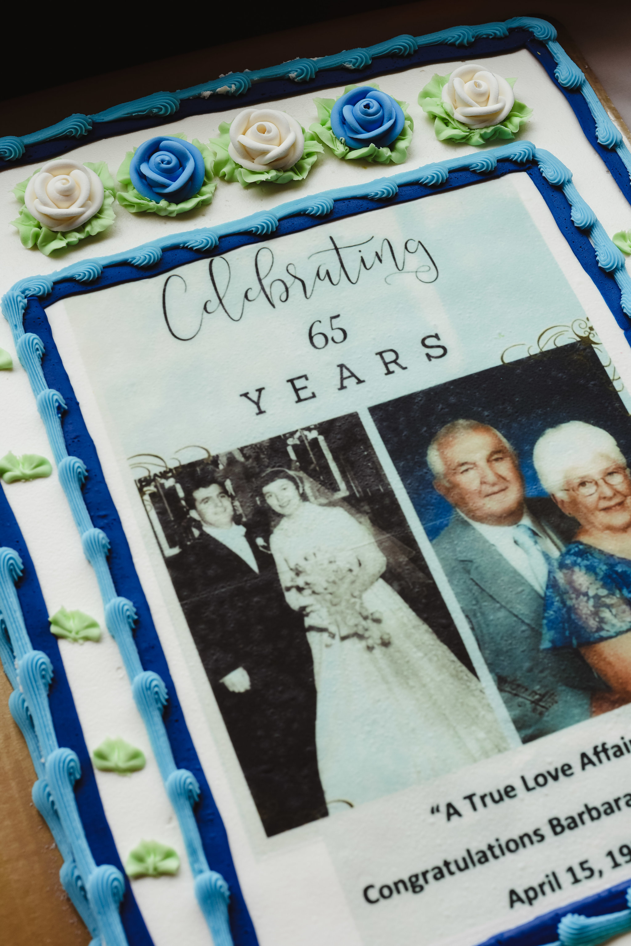 65th anniversary surprise party event photography auburn syracuse new york