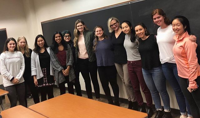 This past Tuesday RHS had the wonderful opportunity of meeting with Greta Guggenheim, the CEO and president of TPG Real Estate Finance Trust #womeninfinance #RHS