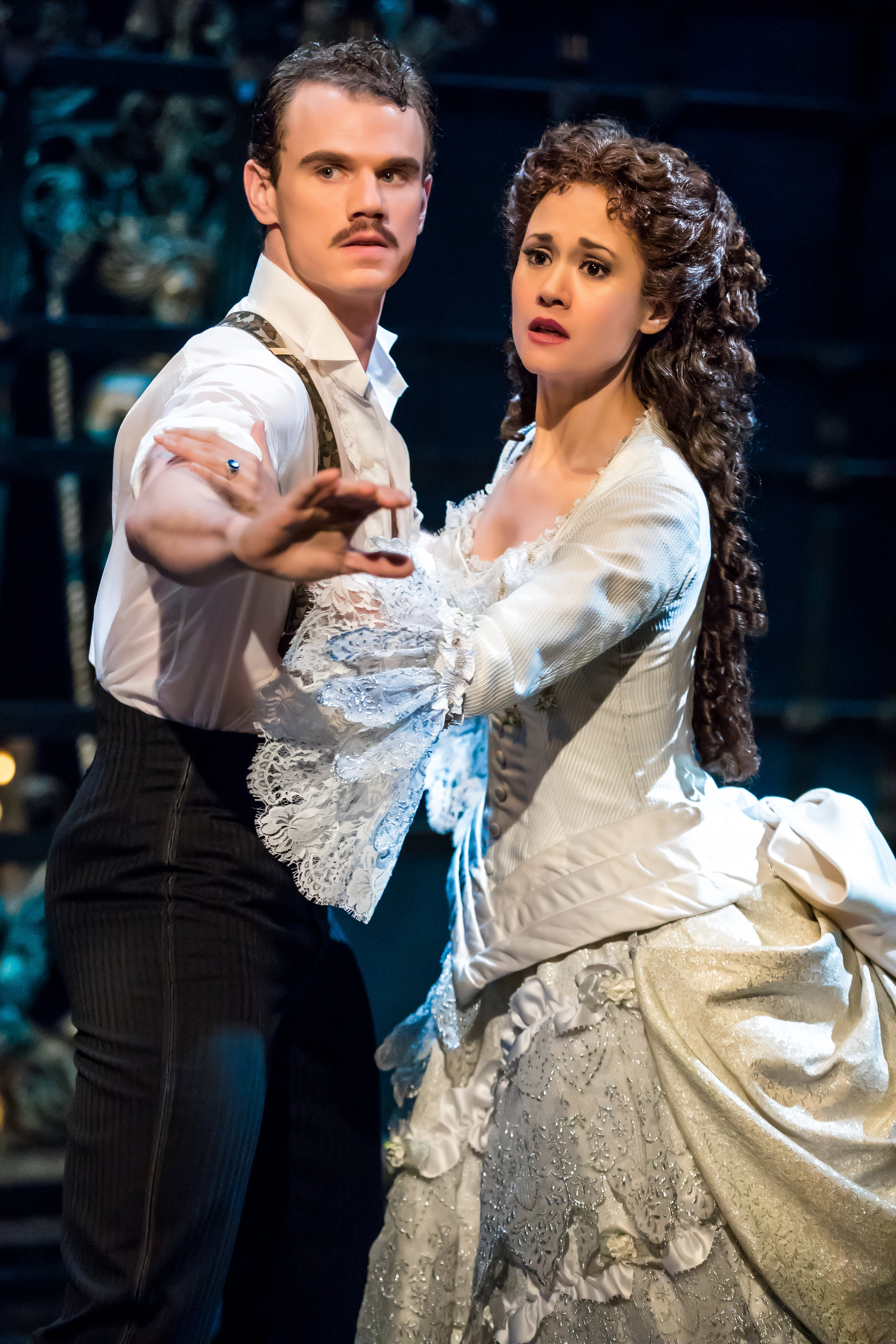 Jay & Ali Ewoldt in The Phantom of the Opera  - Photo by Matthew Murphy