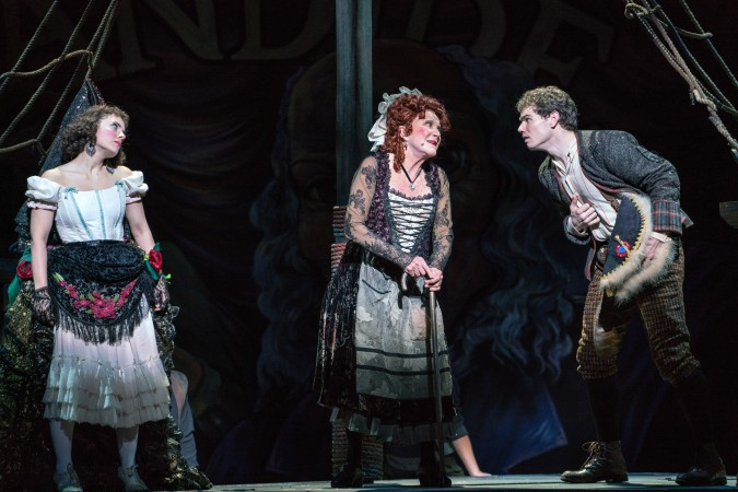 Jay & Linda Lavin in Candide  - Photo by Sarah Shatz