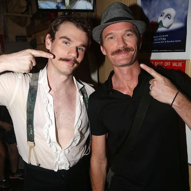 Stache twins! It was a treat to have this beautiful family visit our phamily last week. @phantombway