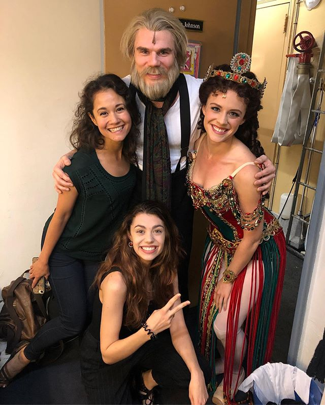 2nd to last show @phantombway. They ALL scared me AGAIN! I'll miss these peeps dearly. #phamily