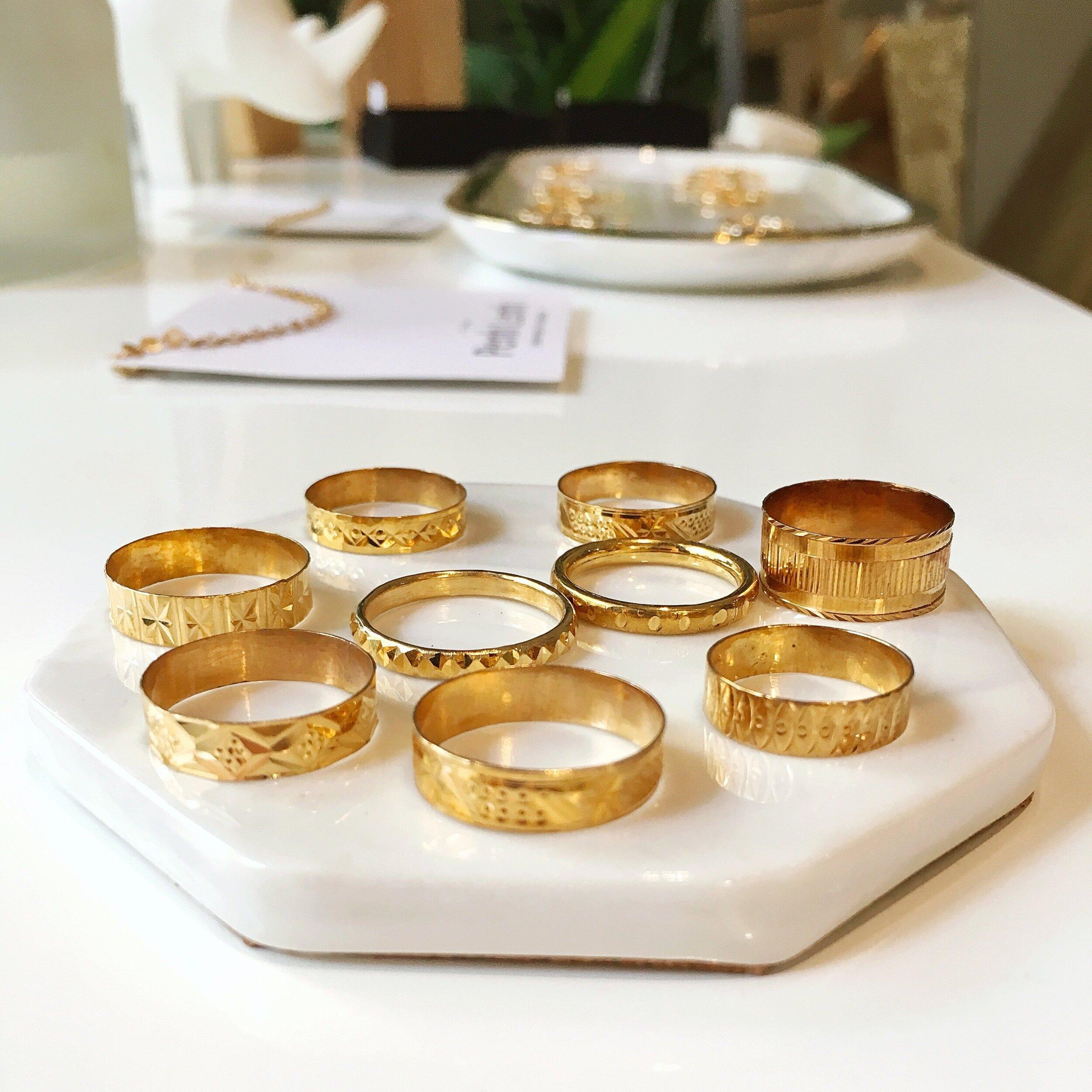 - 14k gold rings