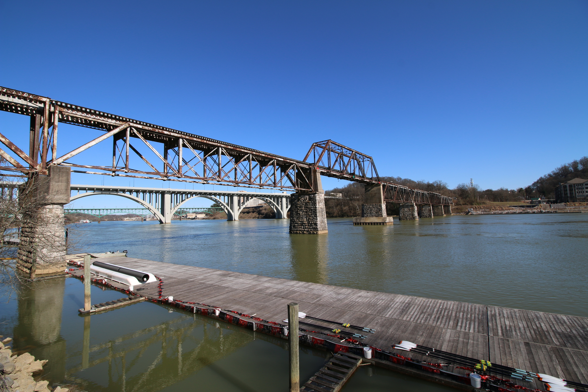 NS Trestle TN River Knoxville
