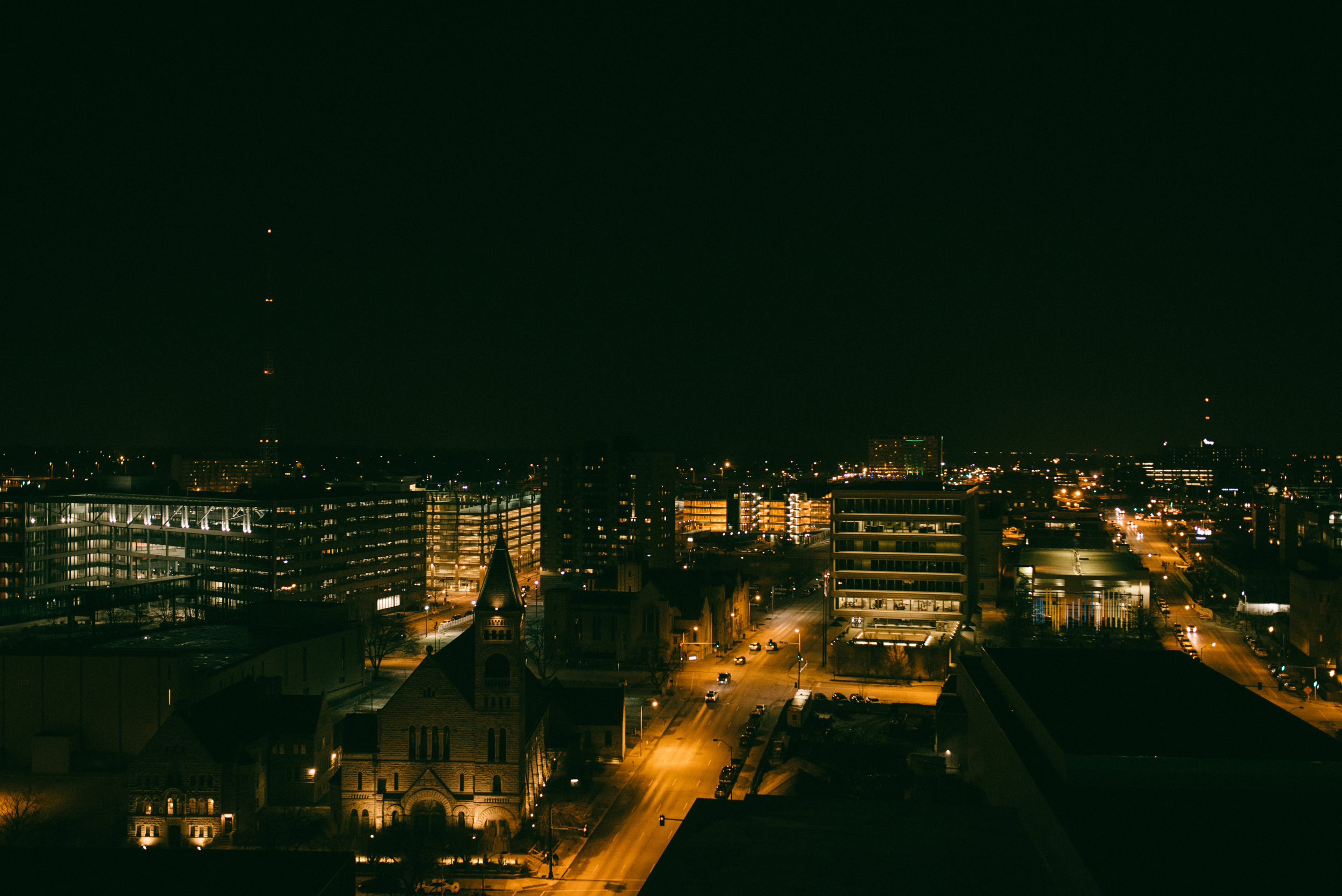 One of the reasons I named this site Say Hello to the City and not something like Say Hello to Des Moines was because I didn't want to be boxed in geographically. -