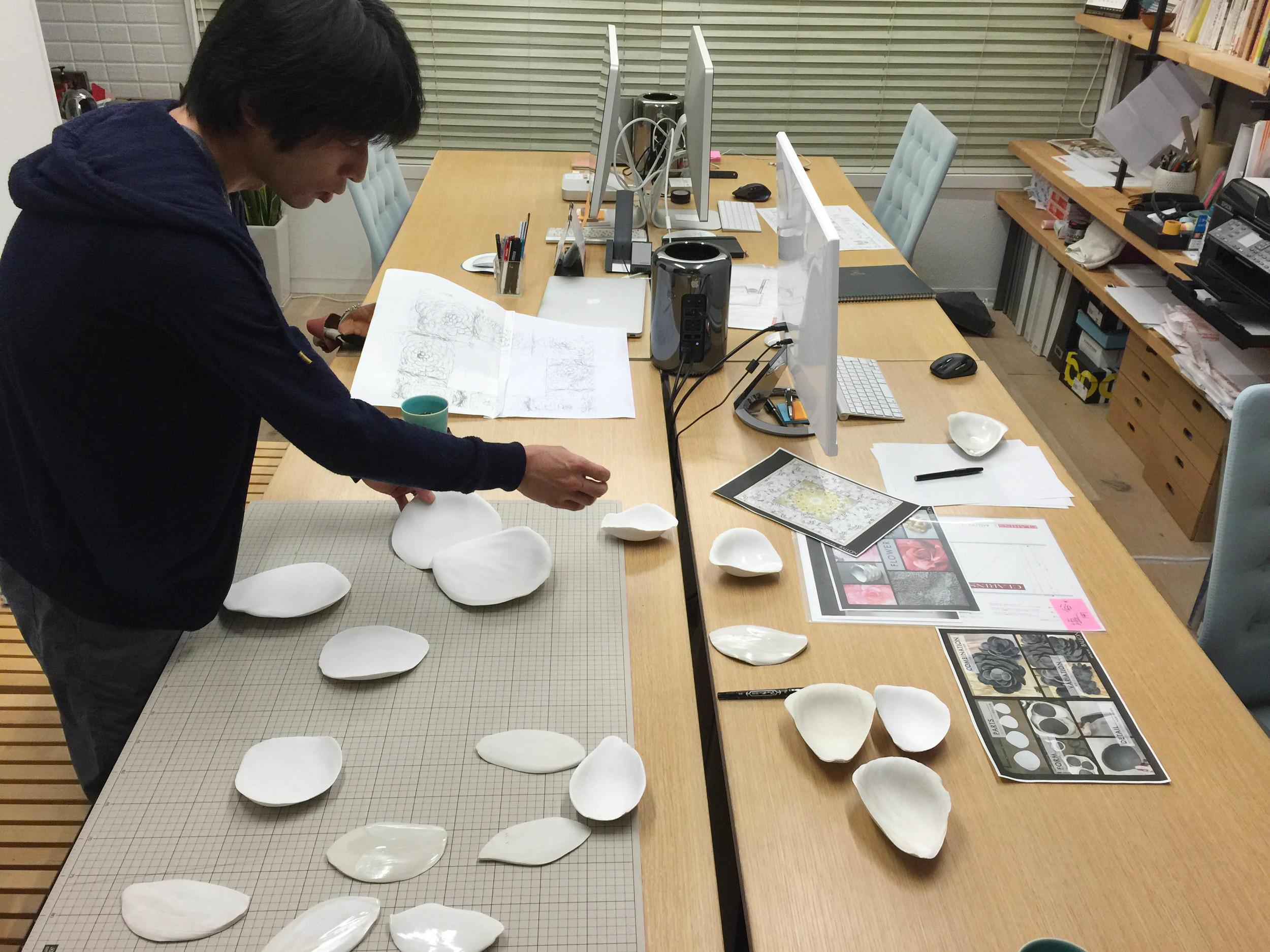 陶芸作家:塩谷良太さんと共同でプロジェクトを進めています。