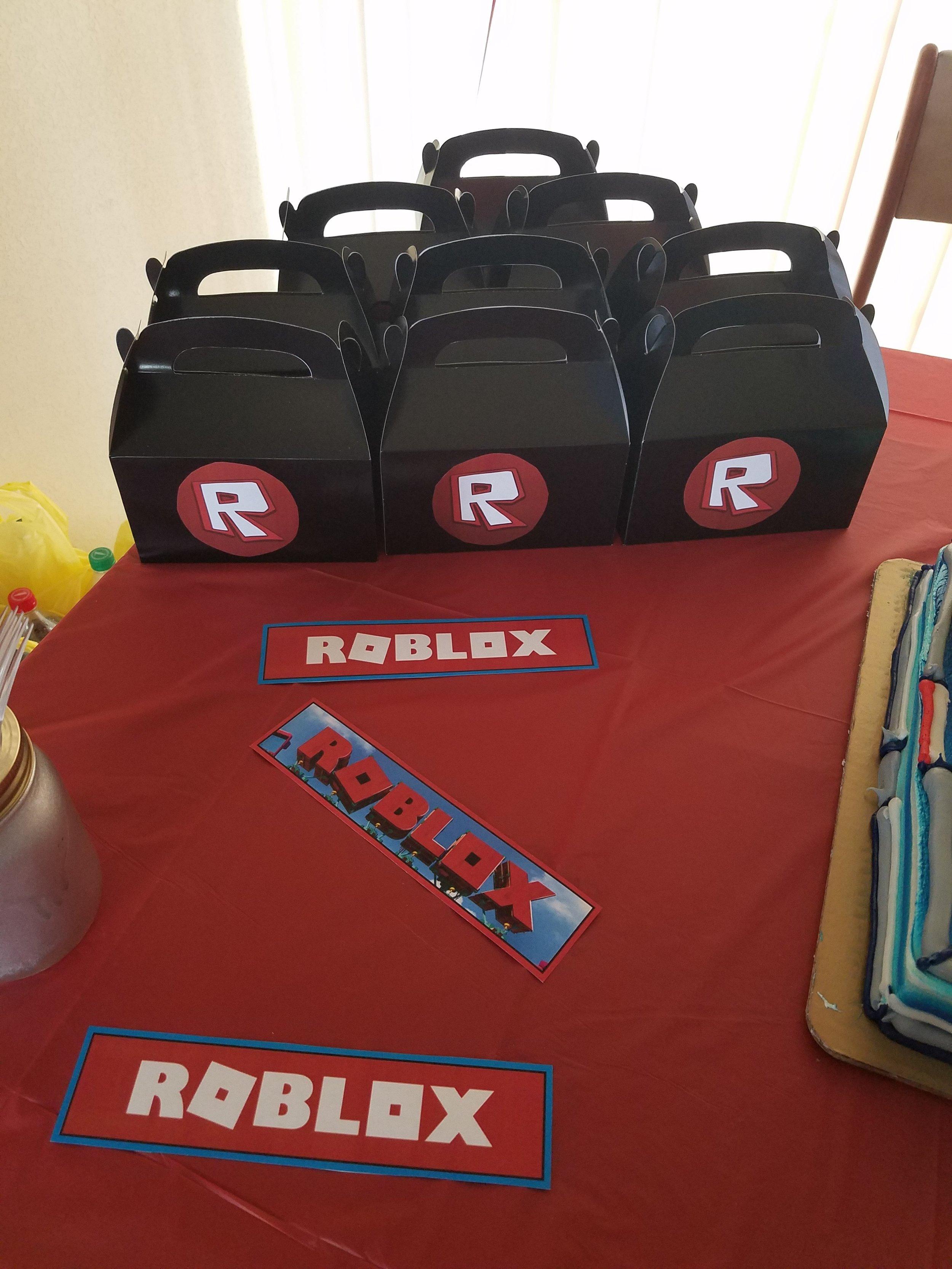 Roblox Diy Party Jaxlee S Bucket