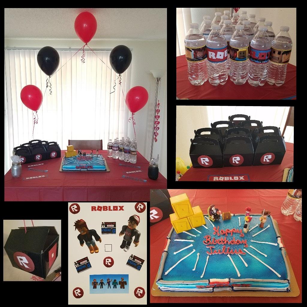 Roblox Diy Party Jaxlee S Bucket - 21 best roblox birthday party images party birthday parties