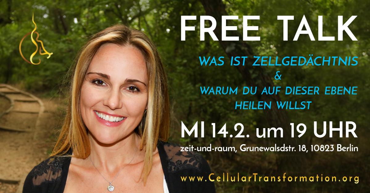 Jennifer Millar Free Talk Berlin Feb 2018