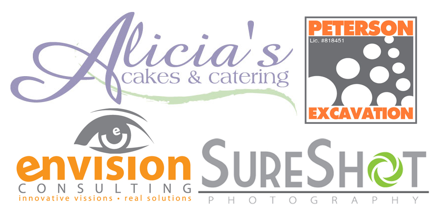 Alicia's Cakes and Catering - Peterson Excavation - Envision Consulting - Sure Shot Photography