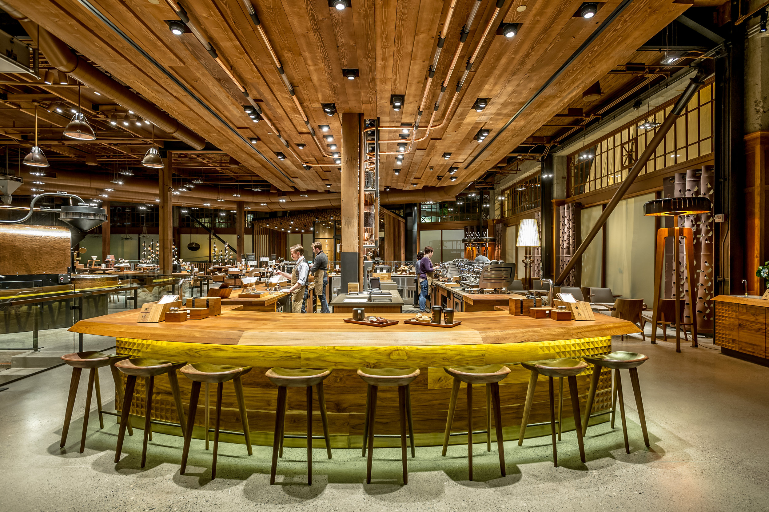 STARBUCKS RESERVE ROASTERY (SEATTLE)