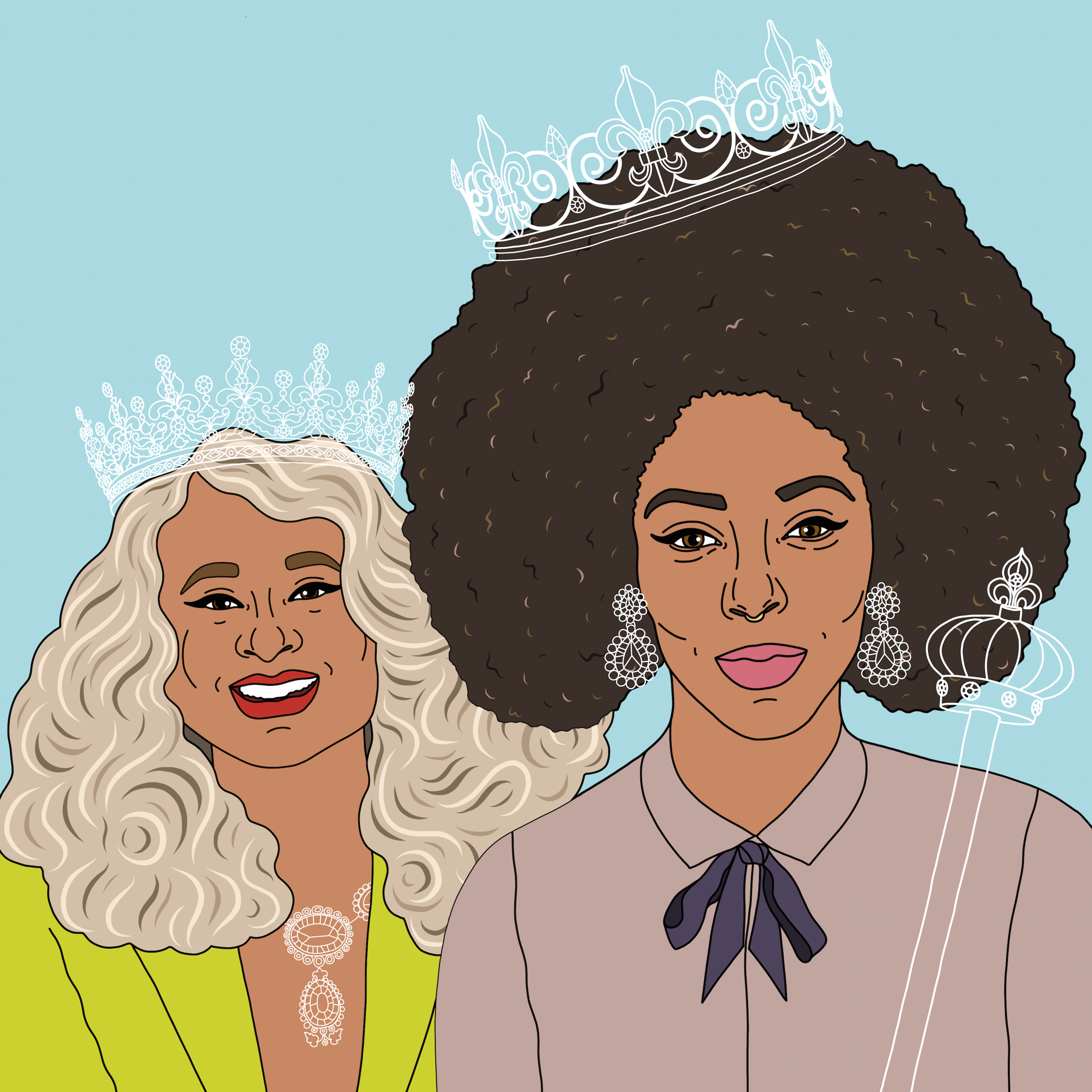 Phoebe Robinson & Jessica Williams (aka 2 Dope Queens)