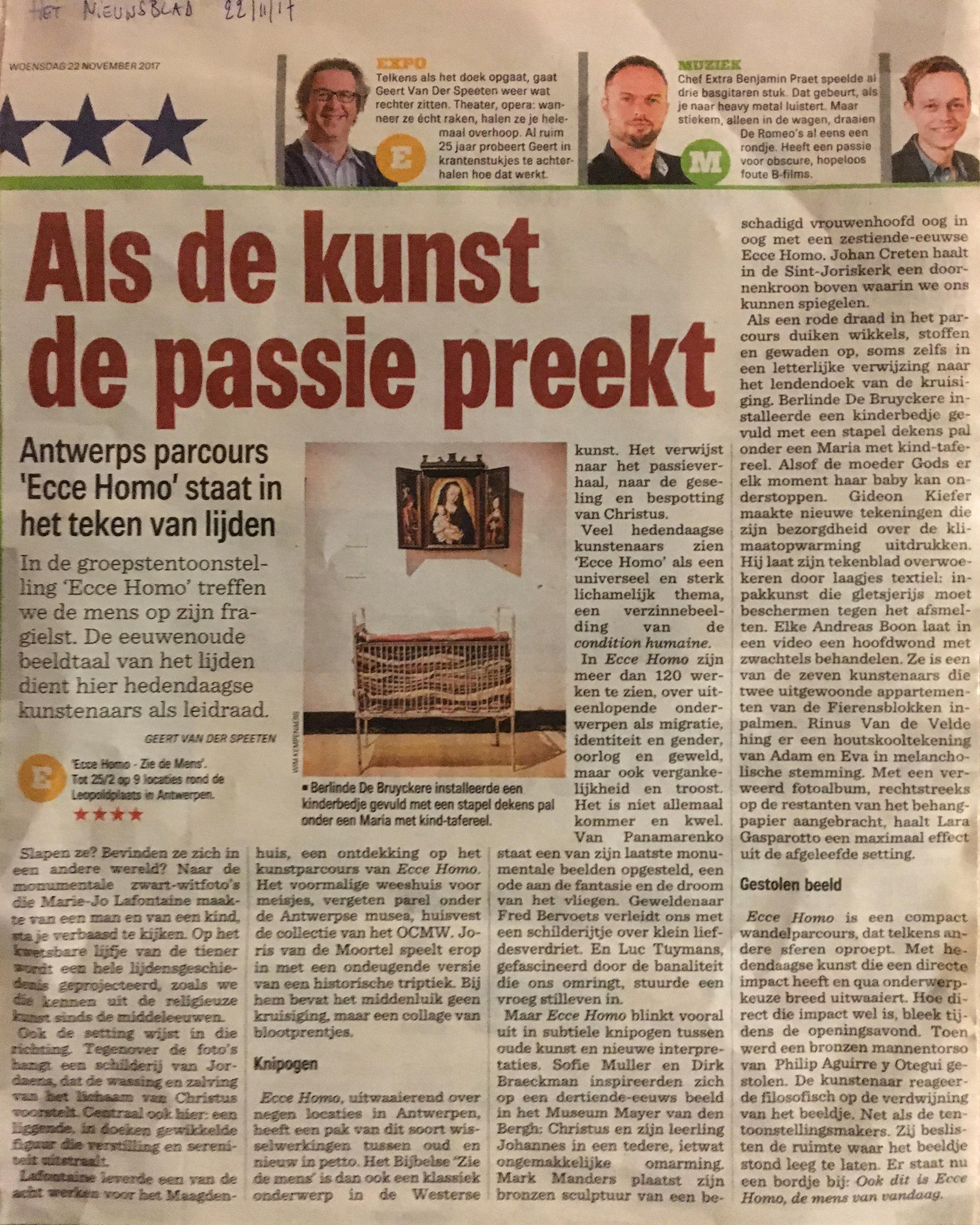 Het Nieuwsblad...