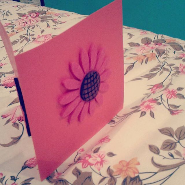 Flower 🌼💕🌼😘💙 #handmade cards for all your special #occasions