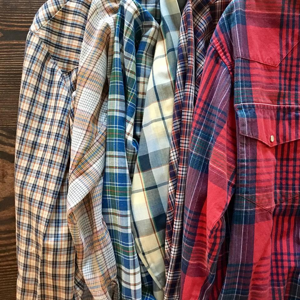 2. Plaid flannels -