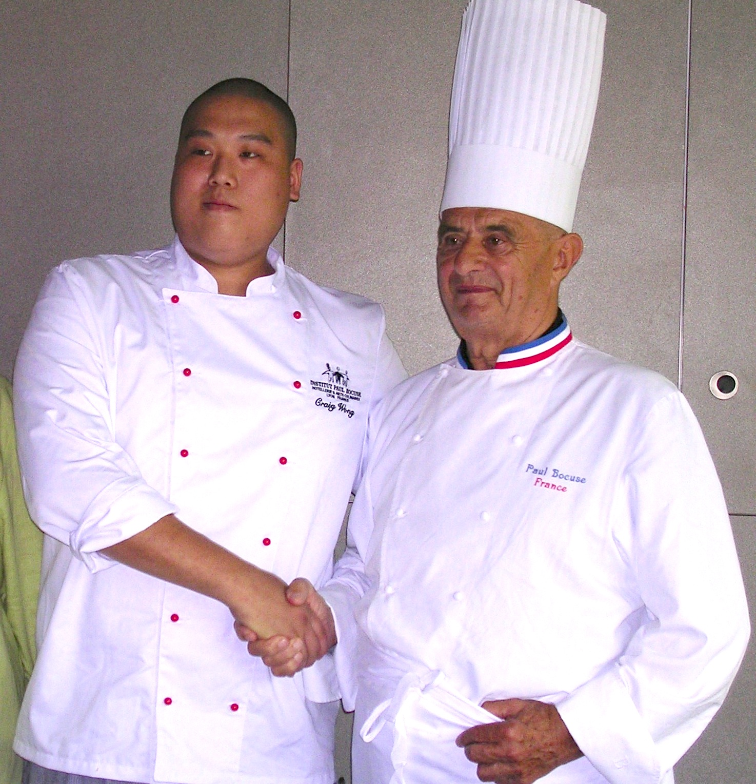 Graduation Ceremony with Chef Paul Bocuse
