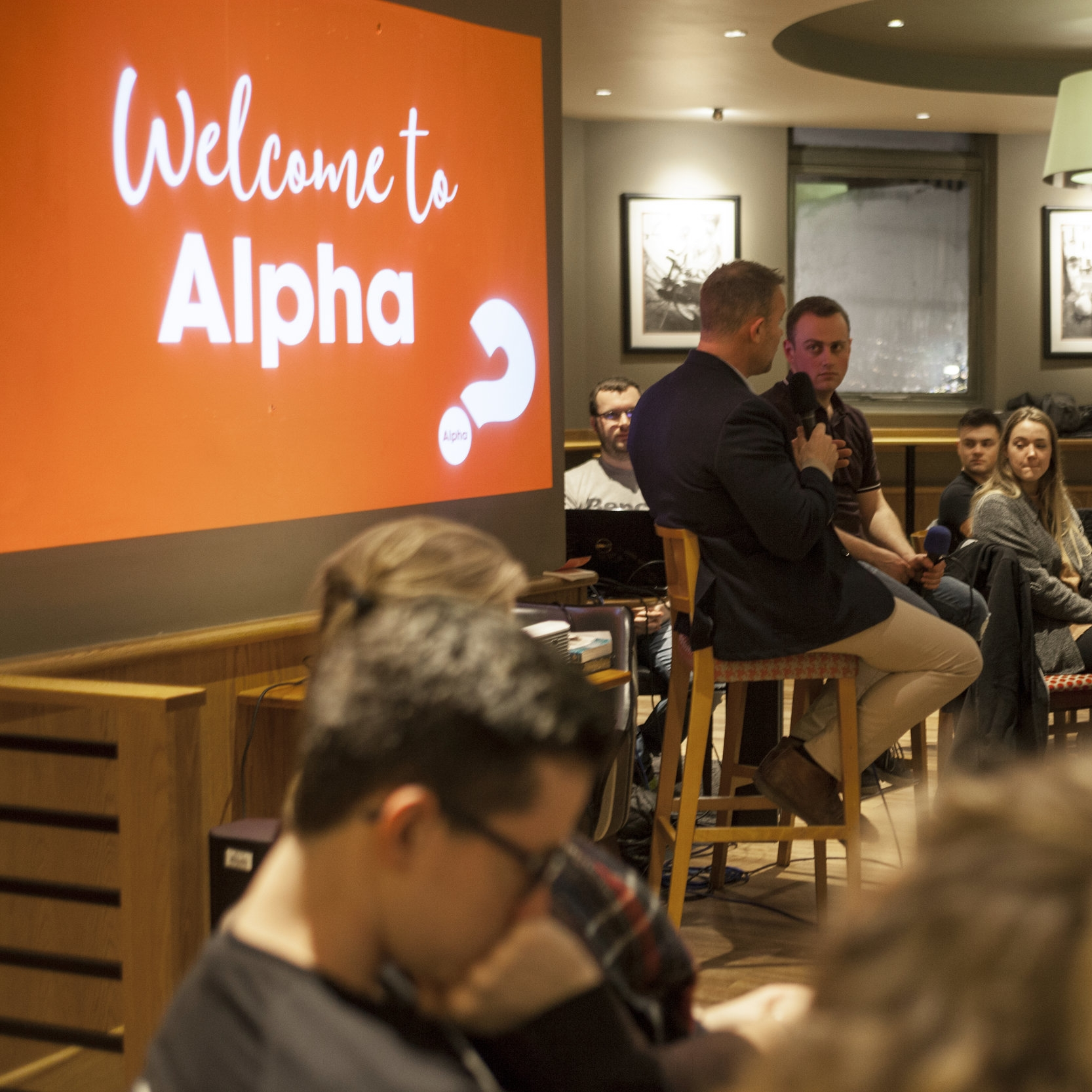 Try Alpha? - Everyone has questions and Alpha is a great place to find out more.More about Alpha