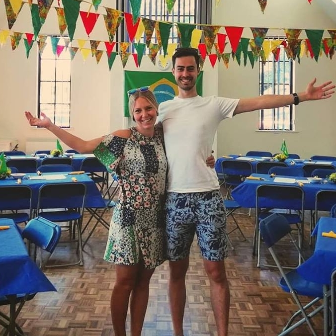 Rosie & Stuart Bayford - Moving to Brazil to support children who live on the streets.