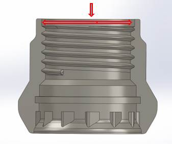 DT Cores feed centrally with diaphragm or spider gate options dramatically reducing waste