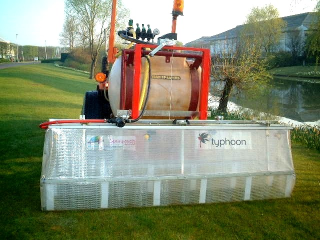 1.5m Typhoon for Hasmead at Stockley Park near Heathrow to protect lakes and offices