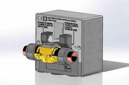 Water miser system incorporated into the control housing