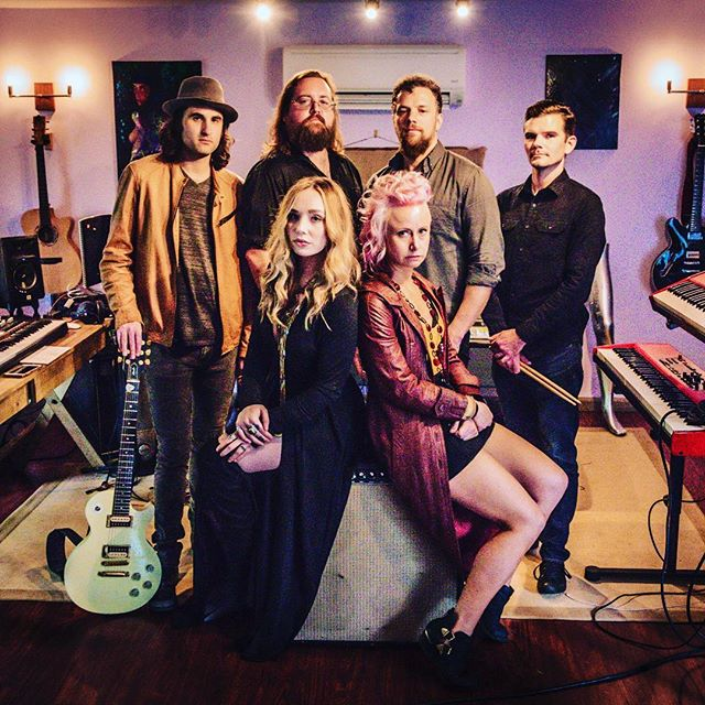 I will be playing with this beautiful group of humans @electric_darling this Friday @scruffycityhall #knoxvillerocks #knoxrocks #rockandroll I JOINED THE BAND. The more music the better.