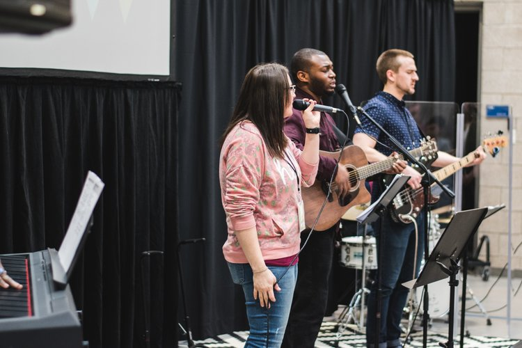 Connect with God through worship is one of The Hill's primary values.