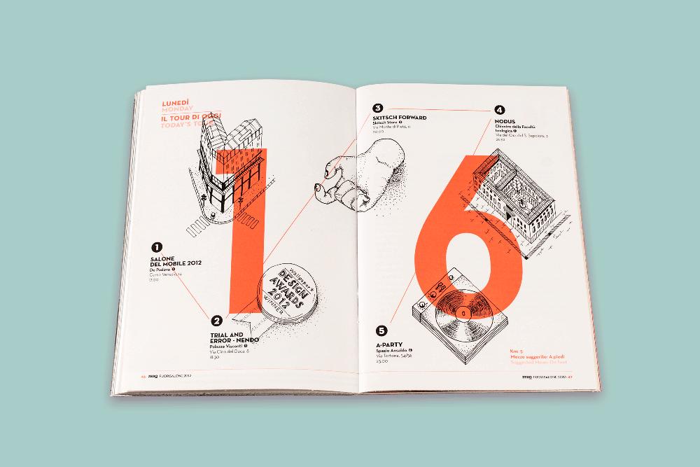 Client:  Zero magazine