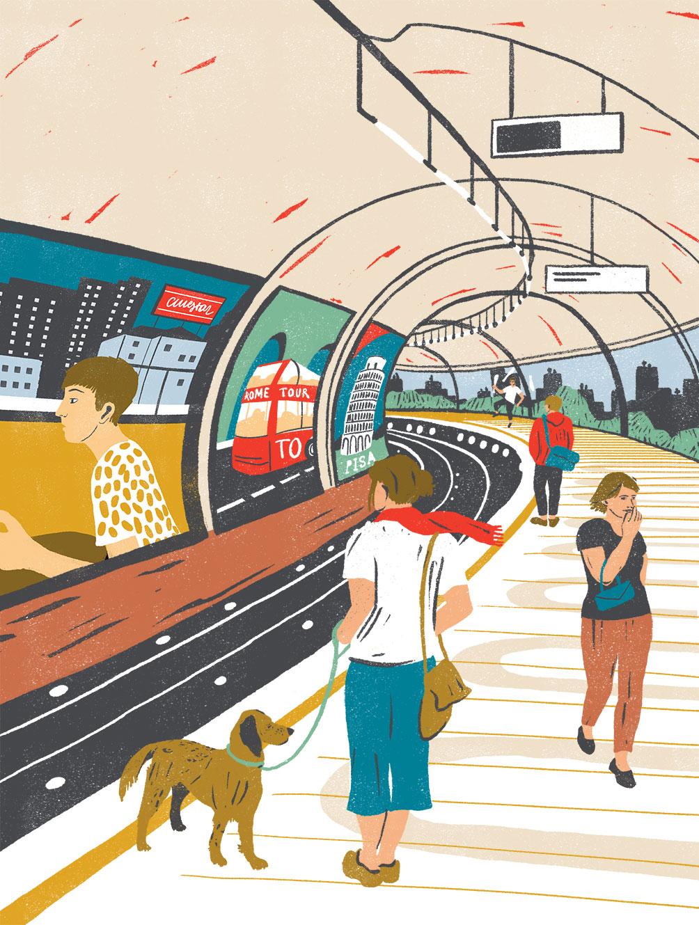 Client:   Illustratore Italiano (magazine cover)