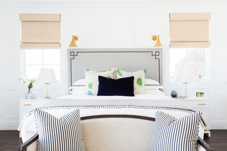 Gray+headboard+with+brass+sconces+--+Studio+McGee.jpg