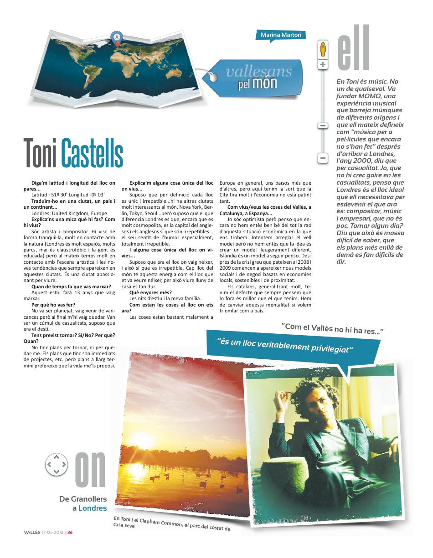 Revista Valles (2013)