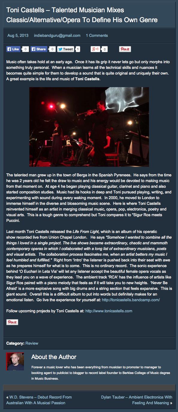 Indie Band Guru (2013)