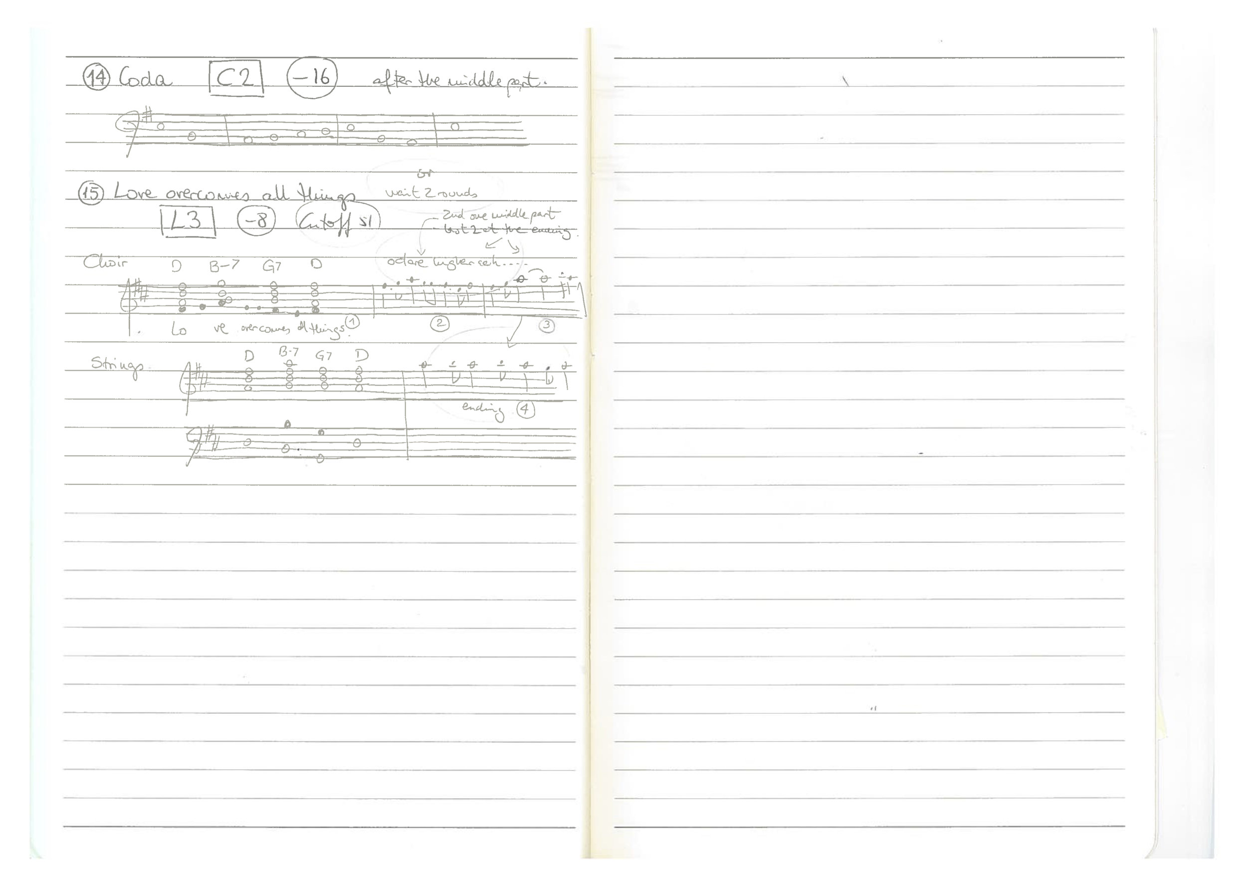 Compositional Notes 3