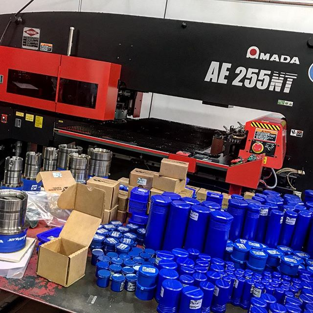 @wilson_tool shipment is here and the new @amadaamericainc machine is ready to run come Friday.  Looking forward to getting this beauty moving.  Stay tuned... #sheetmetal #southlandfabrication #punchpress #amada #steel #fabrication #metal
