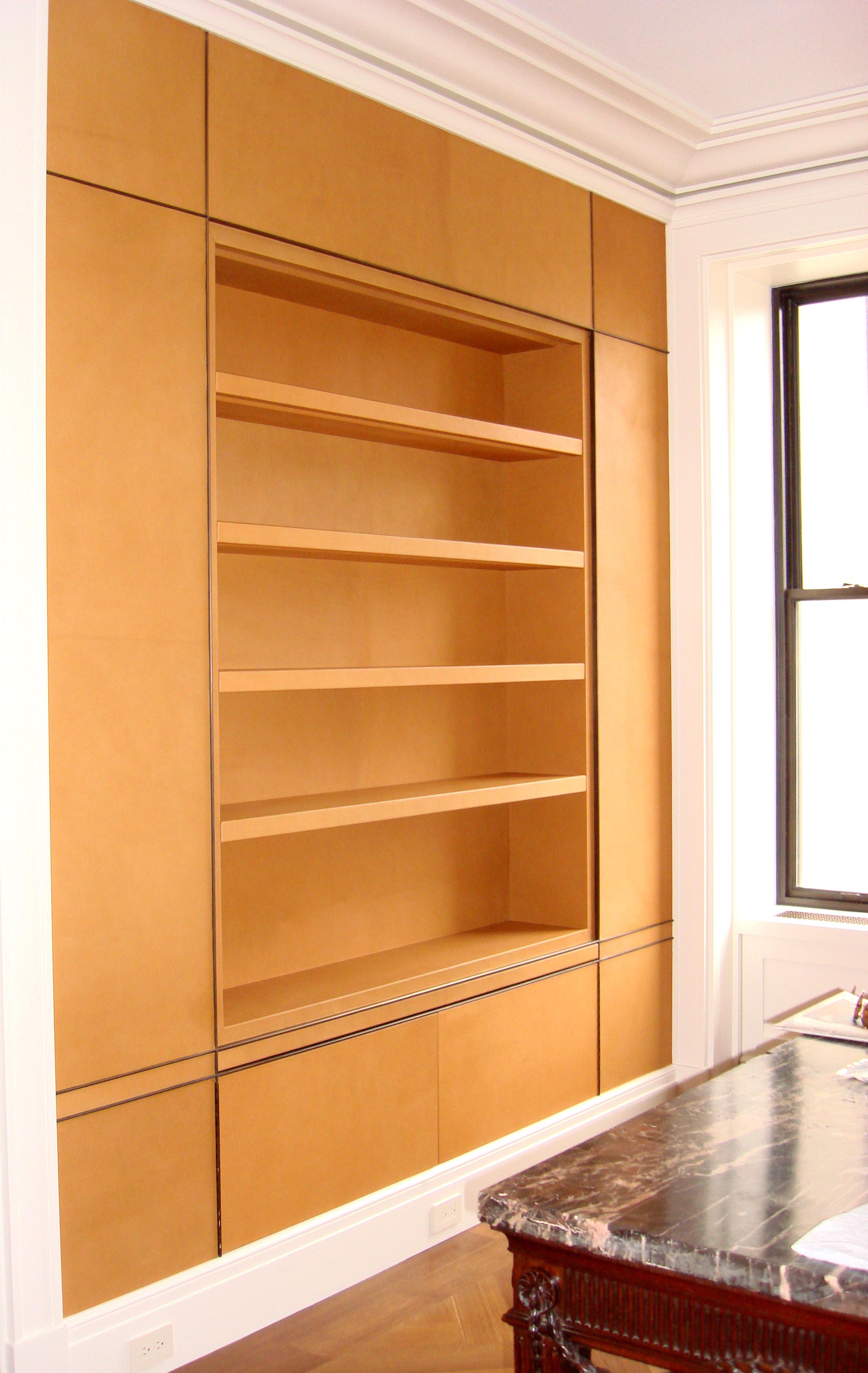 740 Park Library Shelf