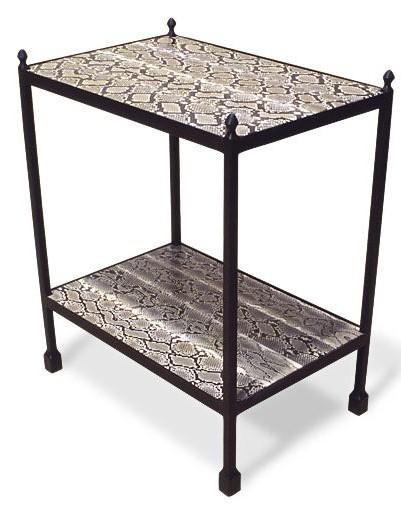 3091PY Etagere 2 Python Wrapped Shelves