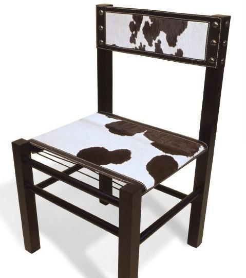 5001F Calf Fur Side Chair