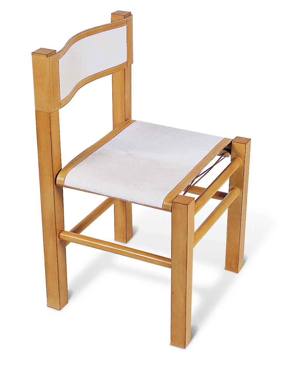 5001 Calf Fur Side Chair