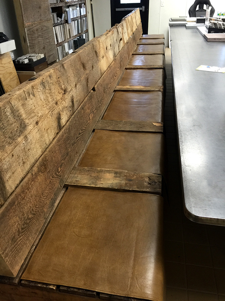 Leather Bench Pads