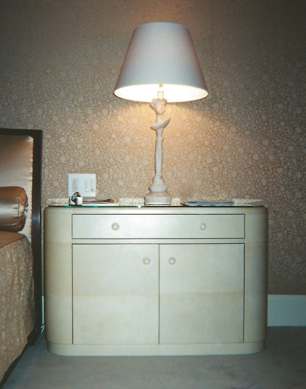 Eliptical Nightstand