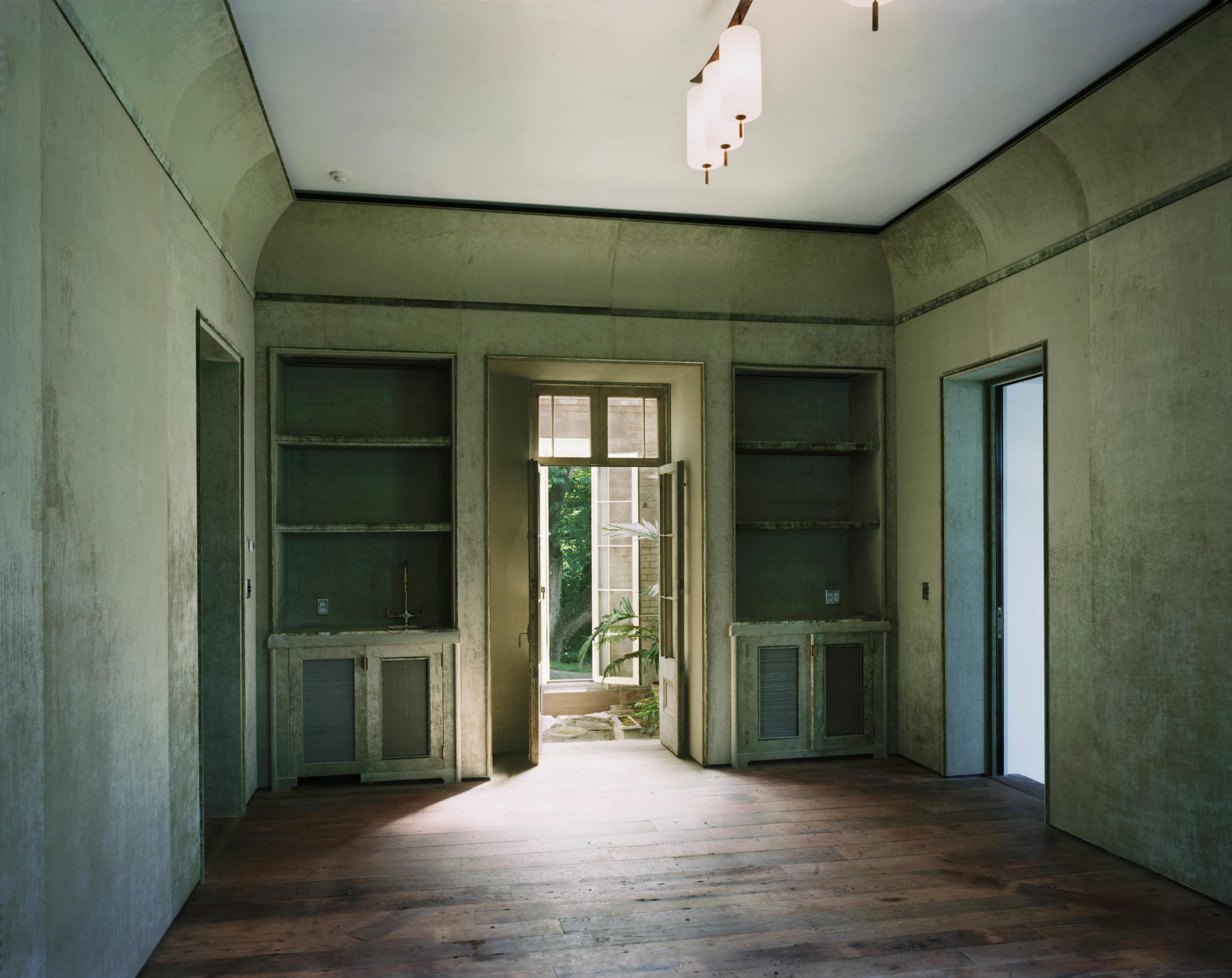 Green Velvet Room
